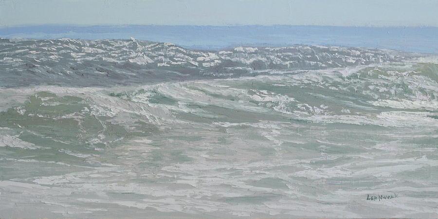 Sunlit Swells by Lea Novak