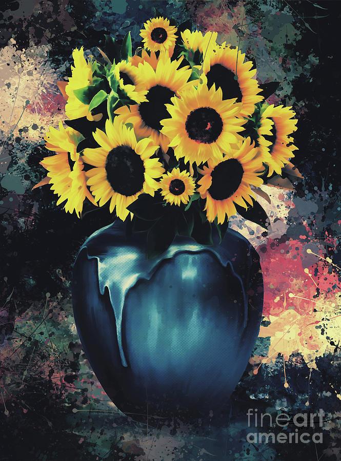 Sunnflowers by Andrzej Szczerski