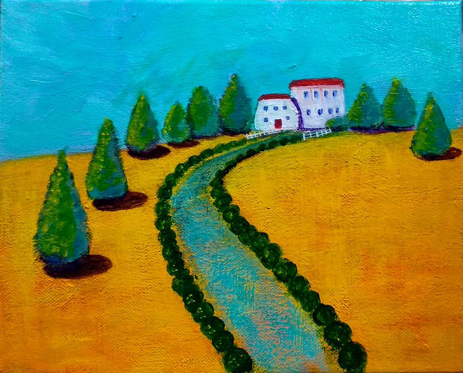 Sunny Cottages by Asha Sudhaker Shenoy