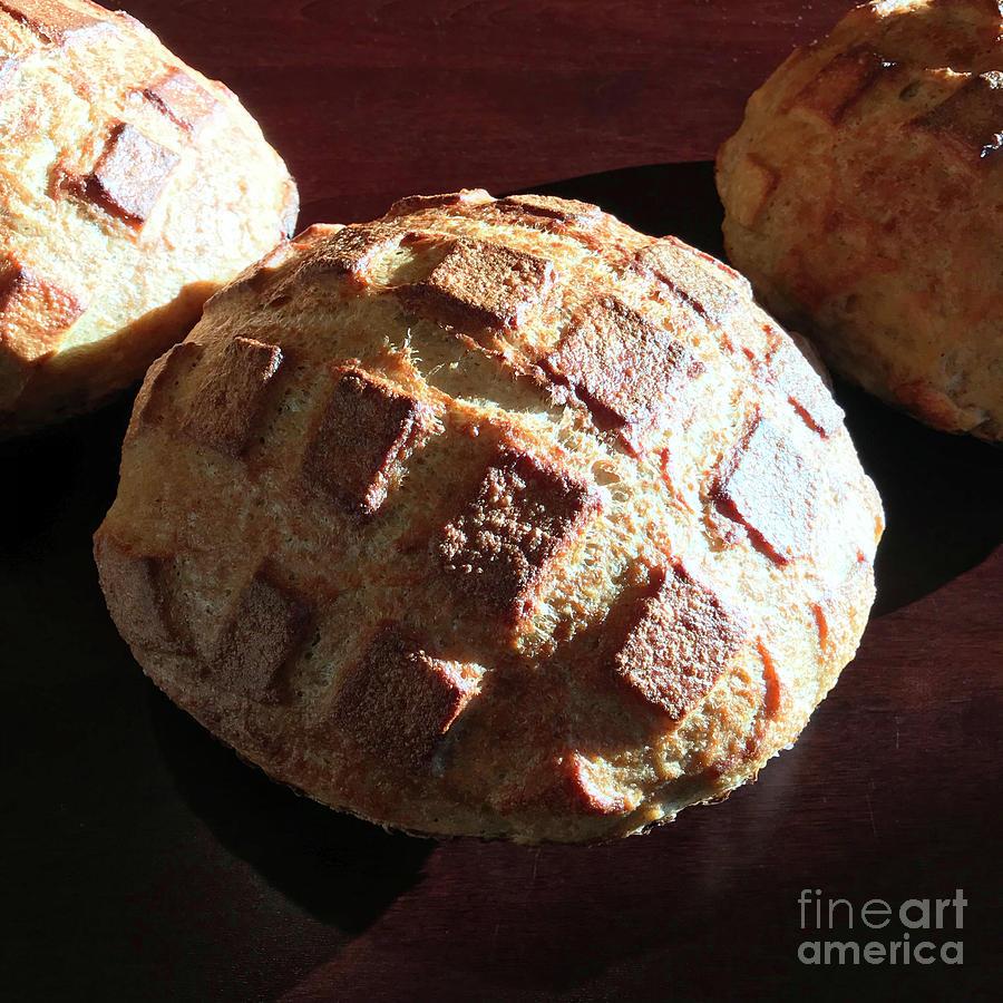 Sunny Crosshatch Sourdough 2 by Amy E Fraser