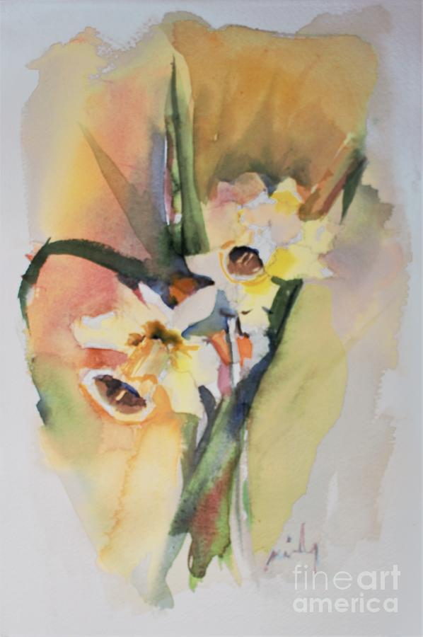 Sunny Daffodils by Mindy Newman