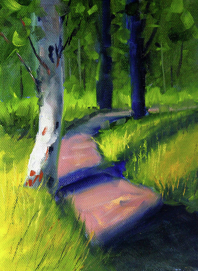 Sunny Path by Nancy Merkle