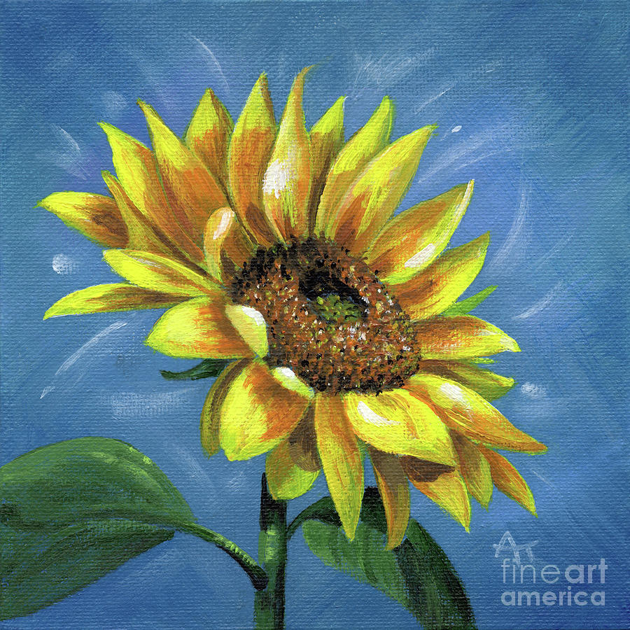 Sunny Side Up, Sunflower by Annie Troe