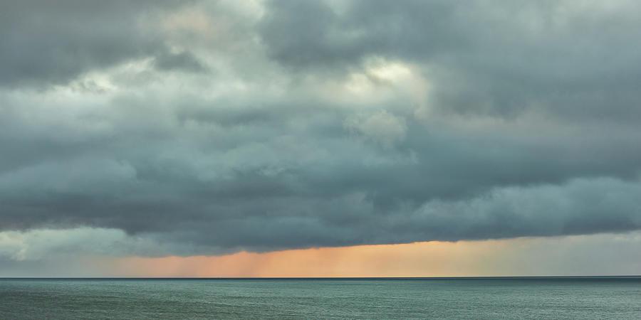 Sunrise Photograph - Sunrise 2-12-2018 Panoramic by A J Paul