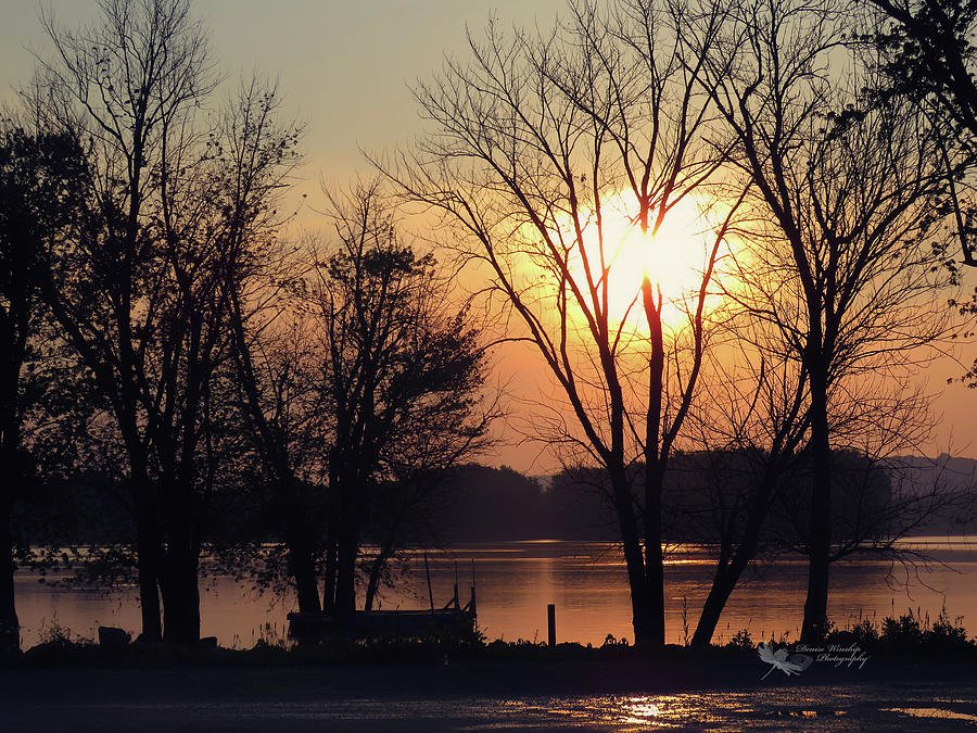 Sunrise 2 Harpers Ferry IA by Denise Winship