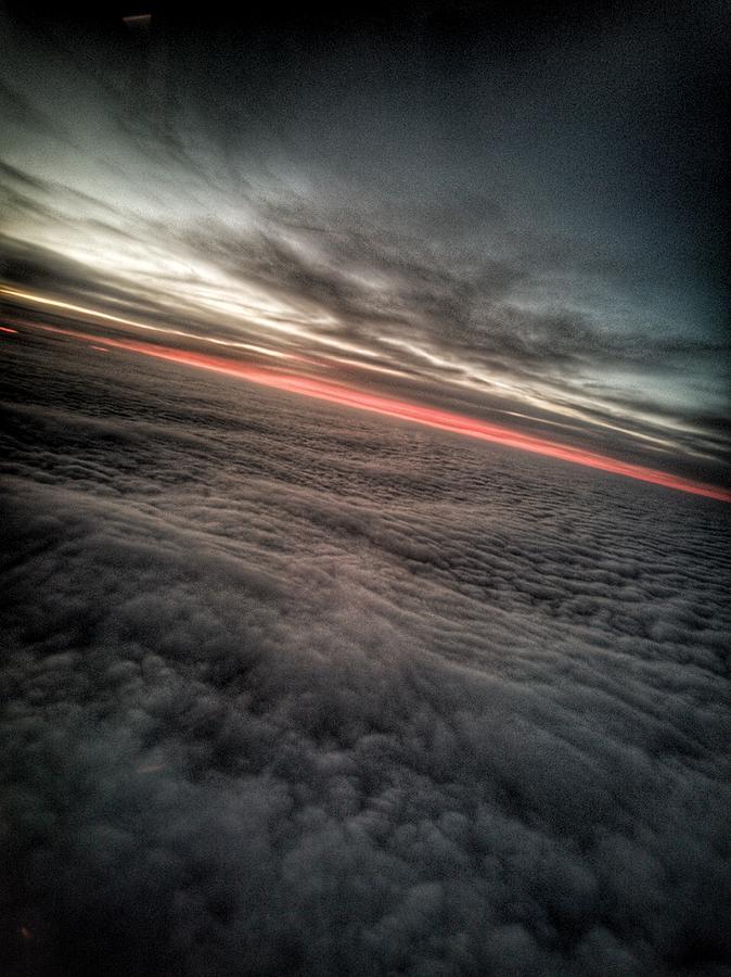 Sunrise Photograph - Sunrise Above The Clouds by Chirila Corina