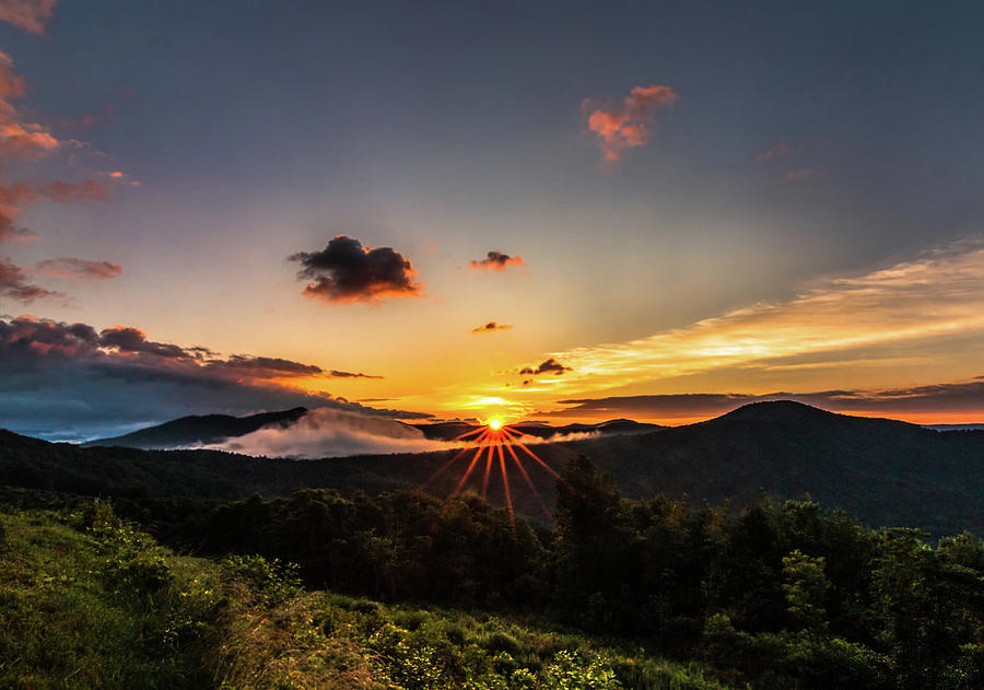 Sunrise at Altapass by Douglas Tate