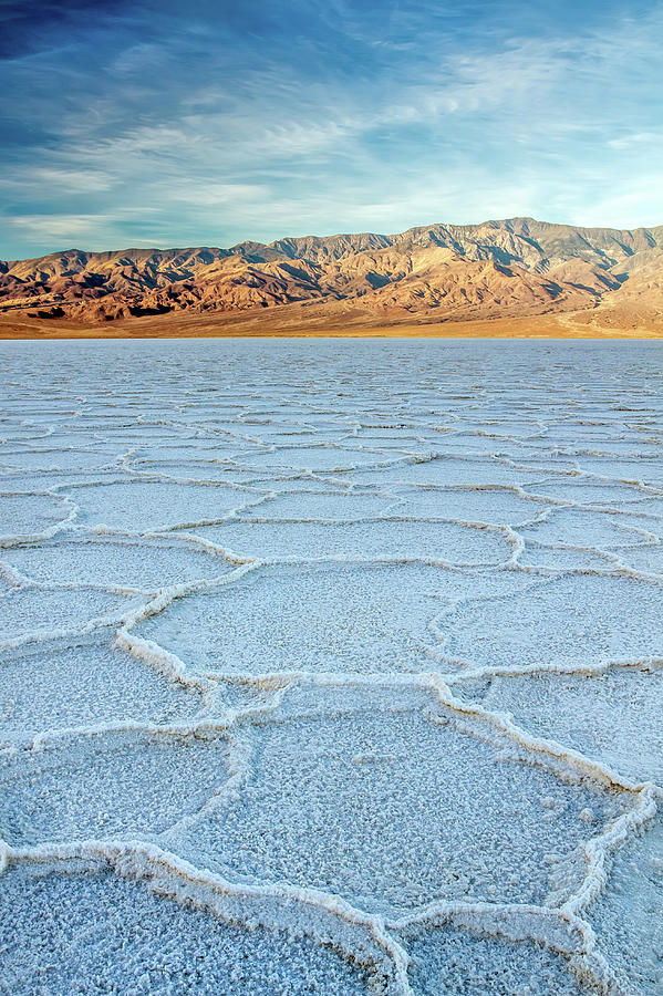 Sunrise At Badwater, Death Valley Photograph by Pierre Leclerc Photography