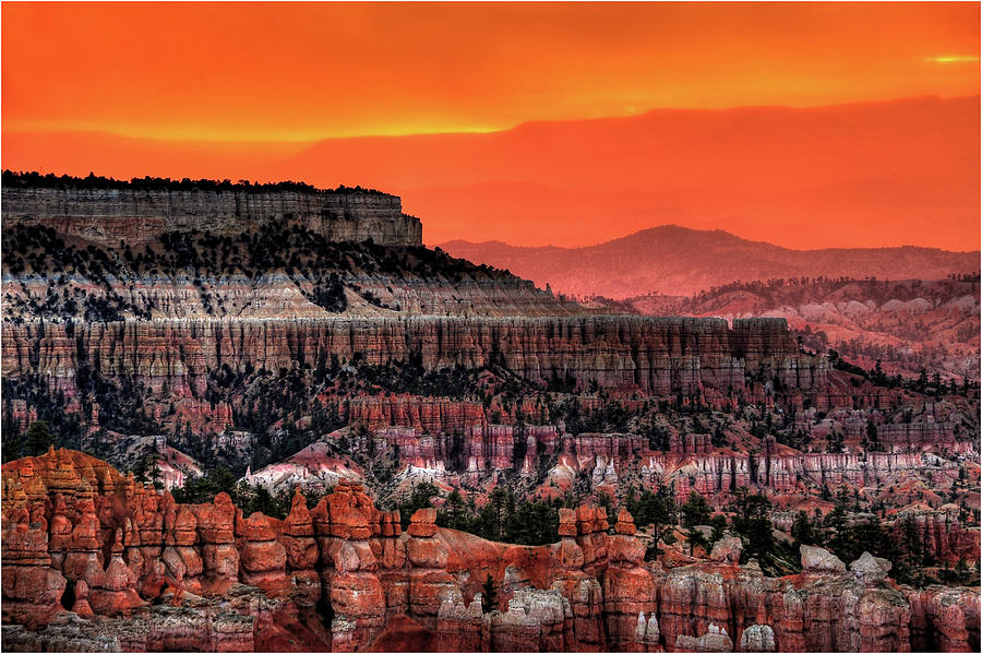 Sunrise At Bryce Canyon Photograph by Photography Aubrey Stoll