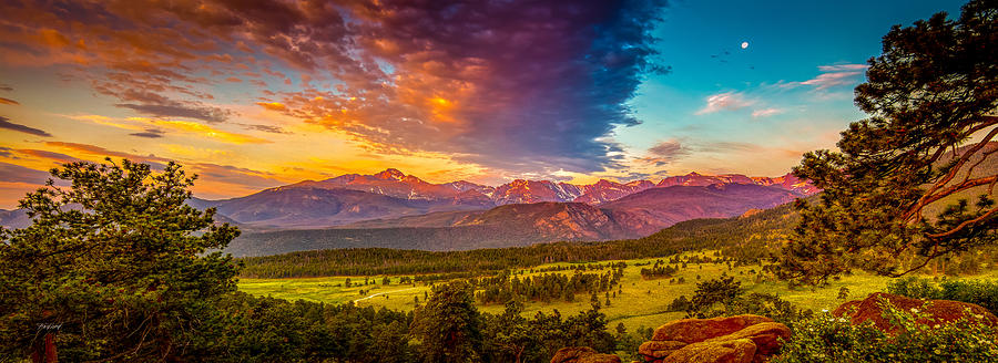 Sunrise at Deer Ridge by Fred J Lord
