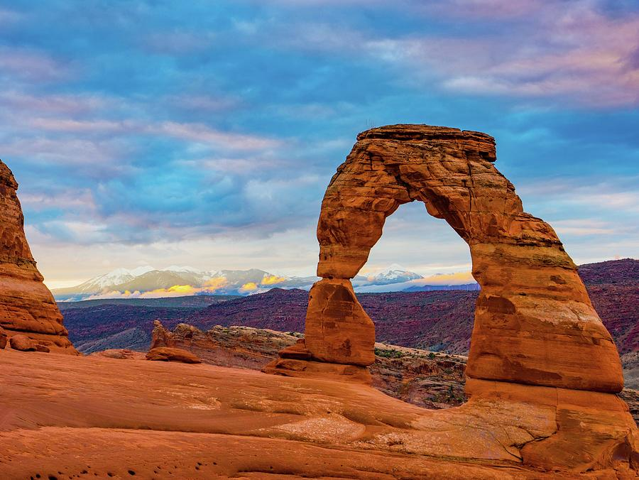 Sunrise at Delicate Arch by Catherine Trevor-Roberts