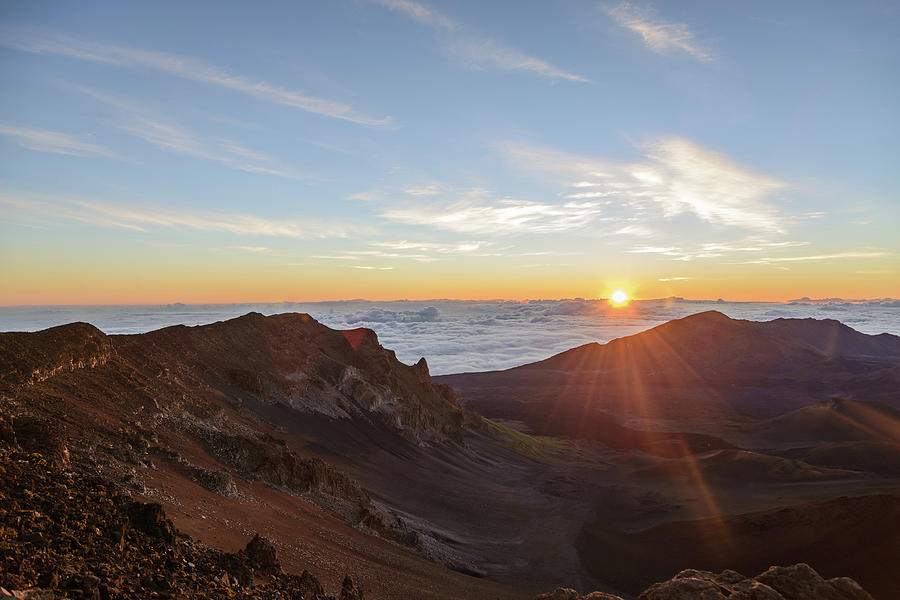 Sunrise At Haleakala Photograph by Photo By Robert Vaughn
