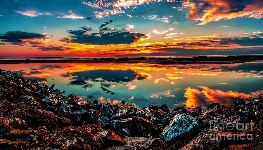 Sunrise at Hereford by Nick Zelinsky