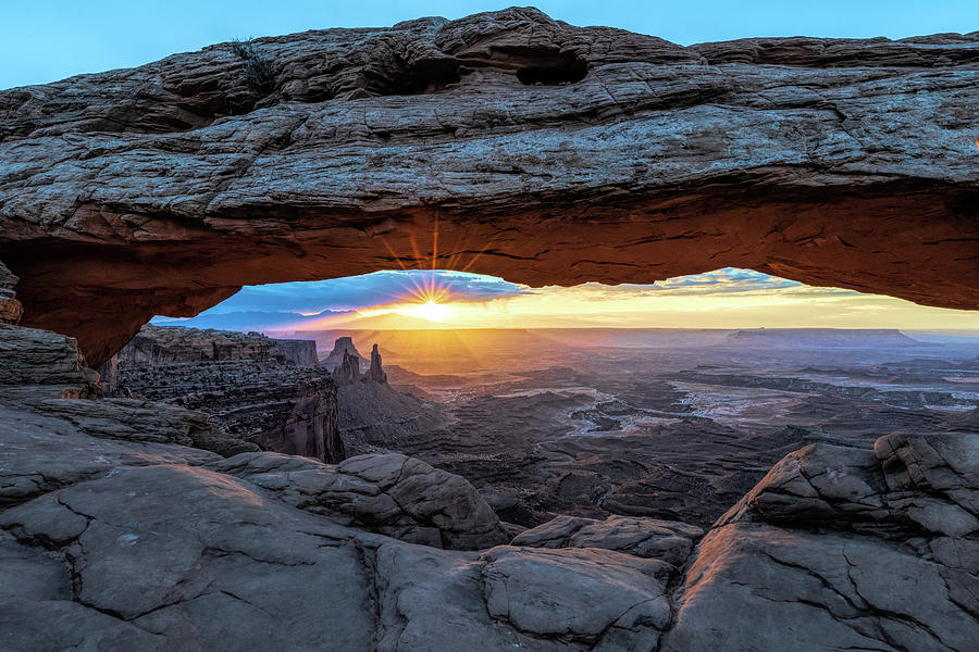 Sunrise at Mesa Arch by Paul LeSage