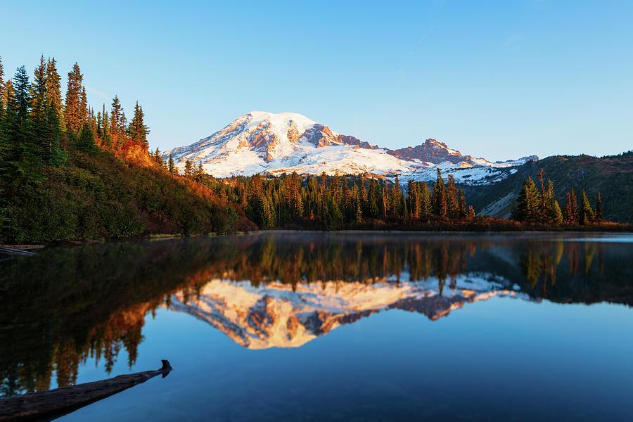 Sunrise at Mt Rainier by Michael Lee