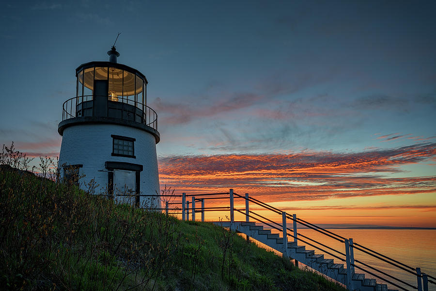 Sunrise at Owls Head by Rick Berk
