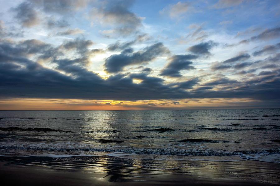 Sunrise At Palmetto Dunes Photograph