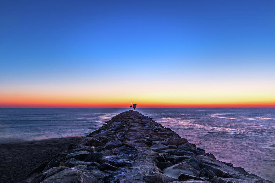 Sunrise at Rudee Inlet by Brian Knight