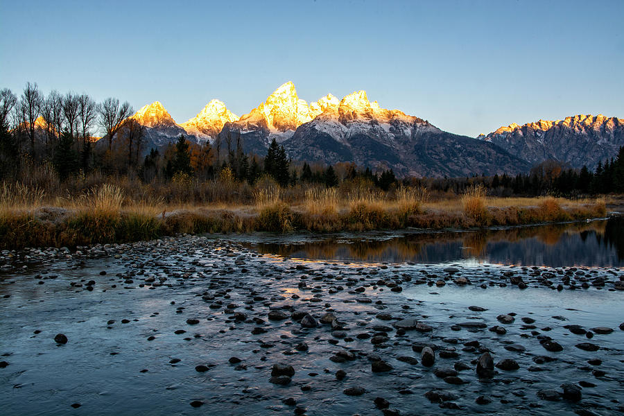 Sunrise at Schwabacher Landing by Scott Read