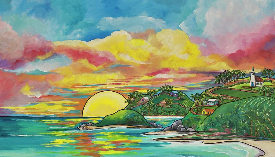 Sunrise at the Islands by Patti Schermerhorn