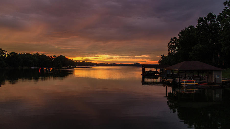 Sunrise at the lake by Star City SkyCams