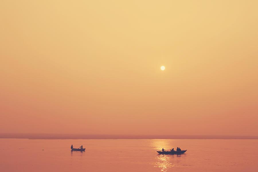Sunrise at Varanasi by Mahesh Balasubramanian