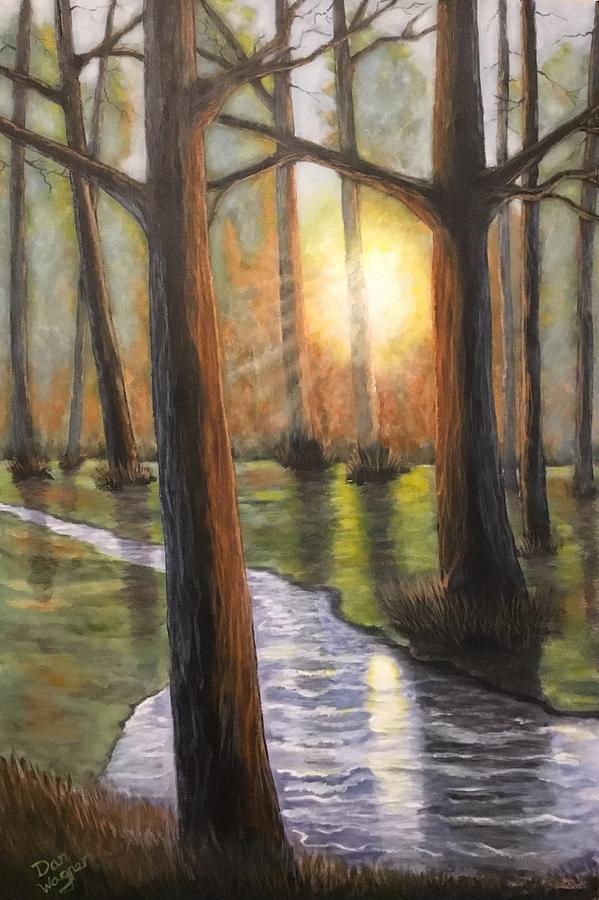 Sunrise Creek II by Dan Wagner