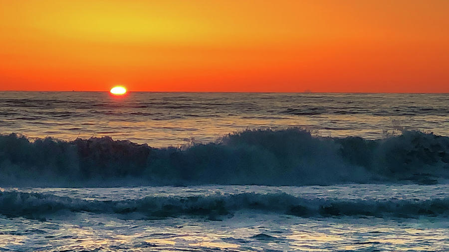 Sunrise First Day by Mike Hudson