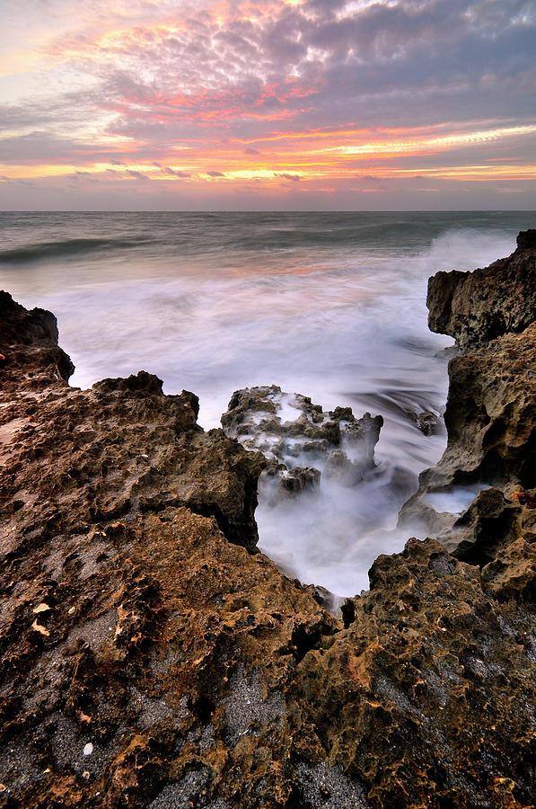 Sunrise In Blowing Rock Preserve Photograph by Shobeir Ansari