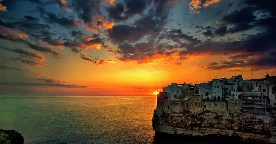Sunrise In Polignano A Mare Photograph by Fabrizio Massetti