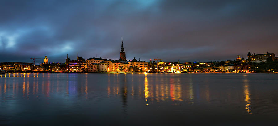 Sunrise in Stockholm by David Morefield