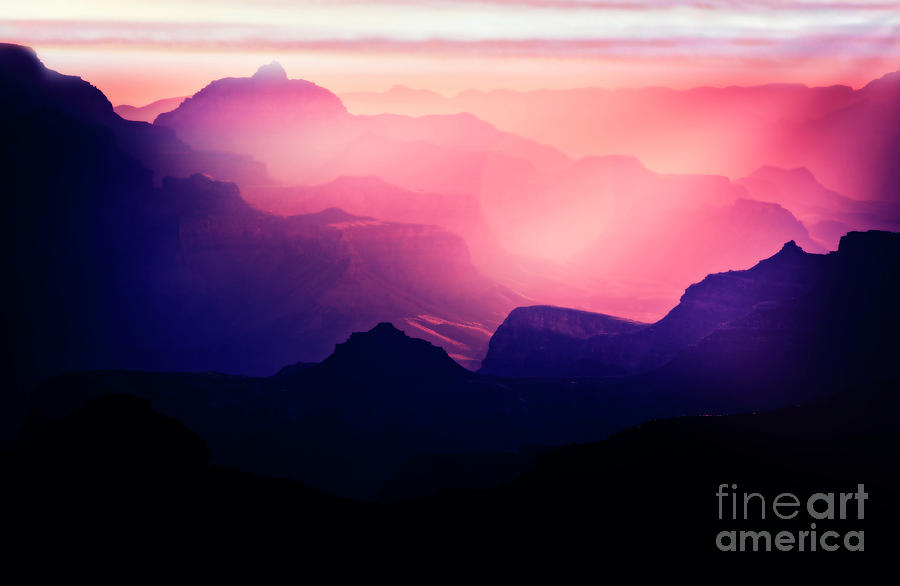 Sunrise in the Canyon by Scott Kemper