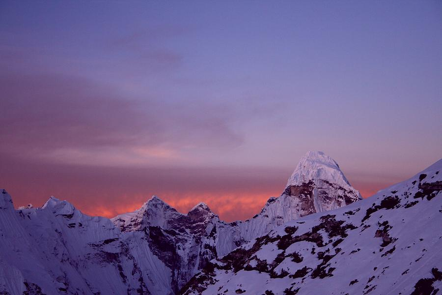 Sunrise In The Nepal Himalayas Photograph by Pal Teravagimov Photography