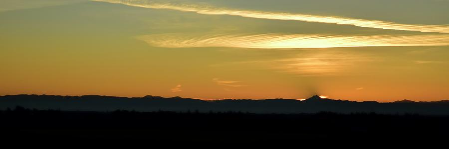 Sunrise Mt. Jefferson by Jerry Sodorff