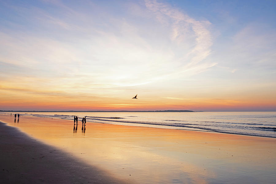 Sunrise on Old Orchard Beach Main by Toby McGuire