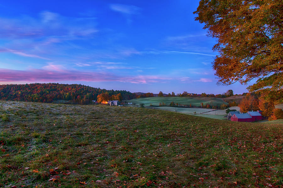Sunrise on the Farm by Joann Vitali