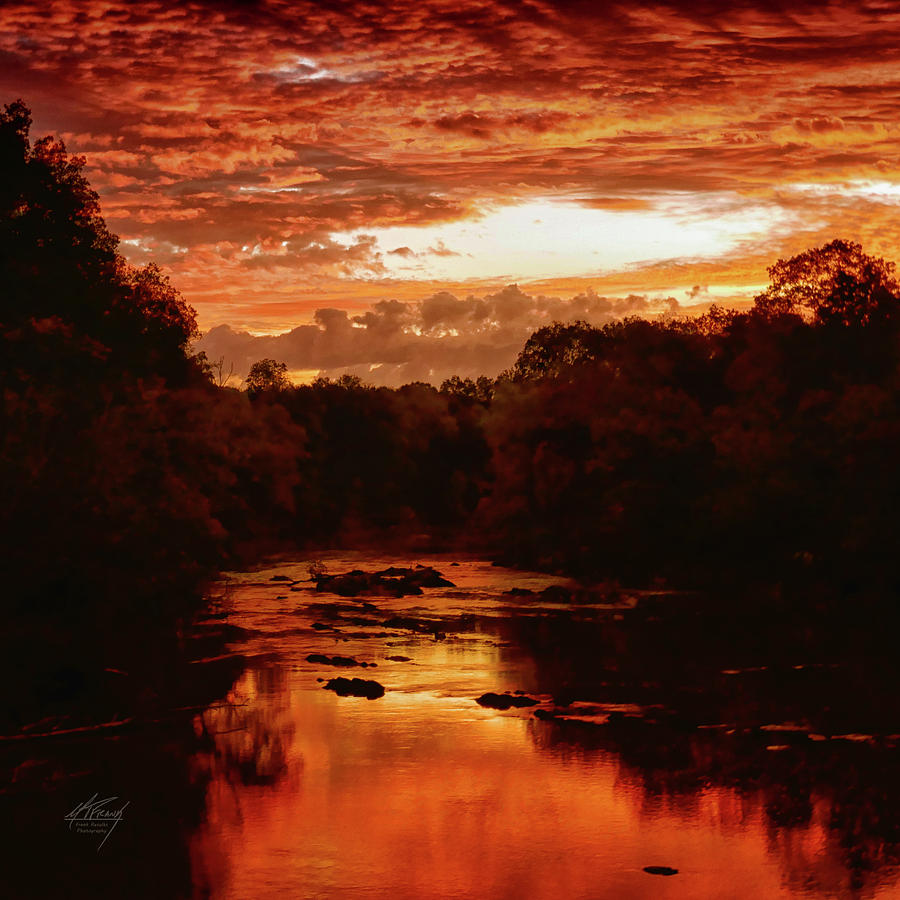 Sunrise on the Haw River by Michael Frank