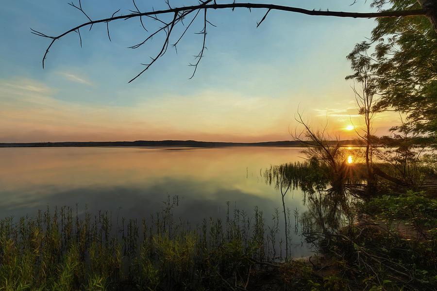 Sunrise on the Lake by Wade Brooks