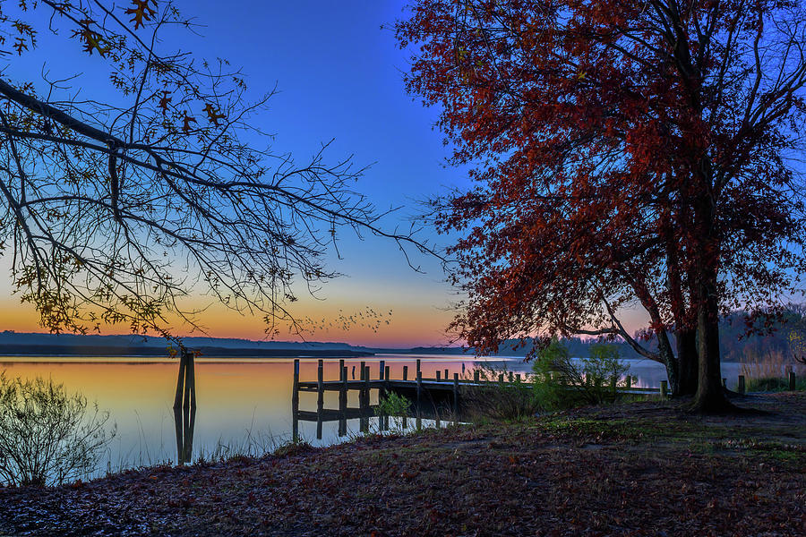 Sunrise on the Patuxent by Cindy Lark Hartman