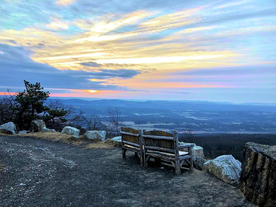 Sunrise On The Ridge by Cornelia DeDona