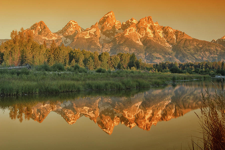 Sunrise on the Snake River - Grand Tetons National Park by Rick Veldman
