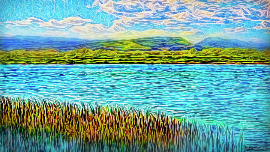 Sunrise On The Waters by Joel Bruce Wallach