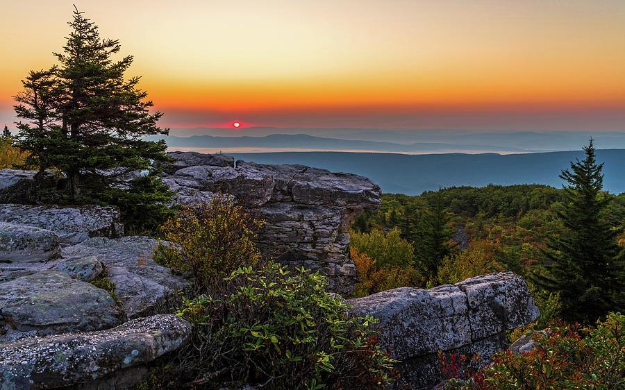 Sunrise over Bear Rocks by Lori Coleman