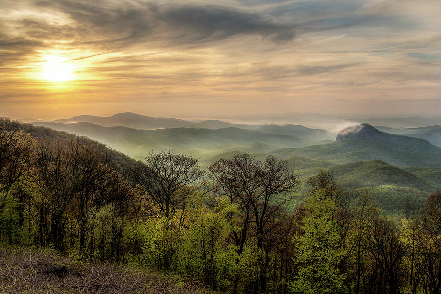 Sunrise over Looking Glass by Douglas Tate