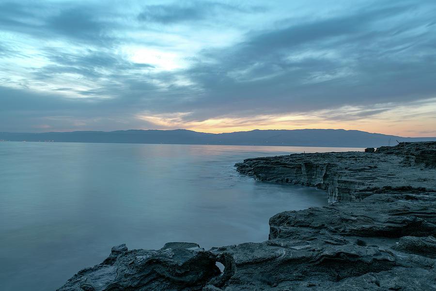 Before Dawn at the Dead Sea by Dubi Roman