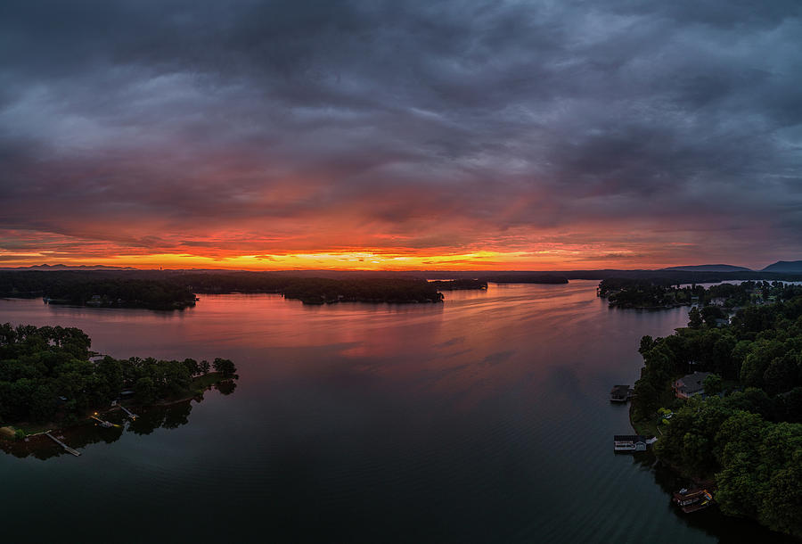 Sunrise Panoramic by Star City SkyCams