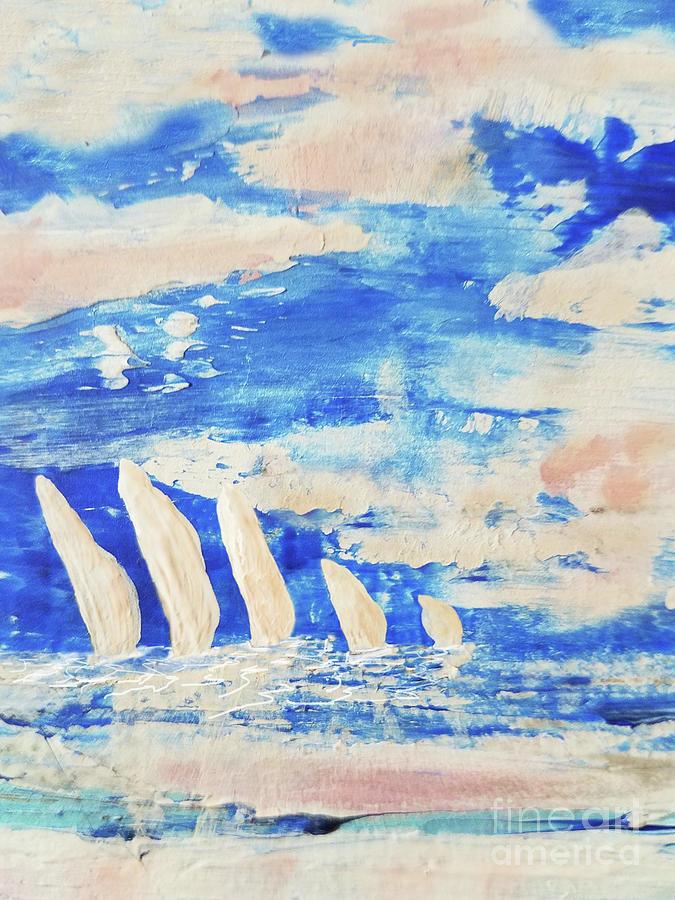 Sunrise Regatta Painting