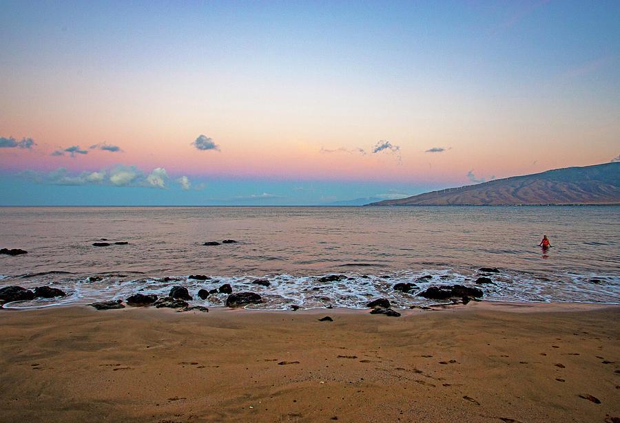 Sunrise Swim by Anthony Jones
