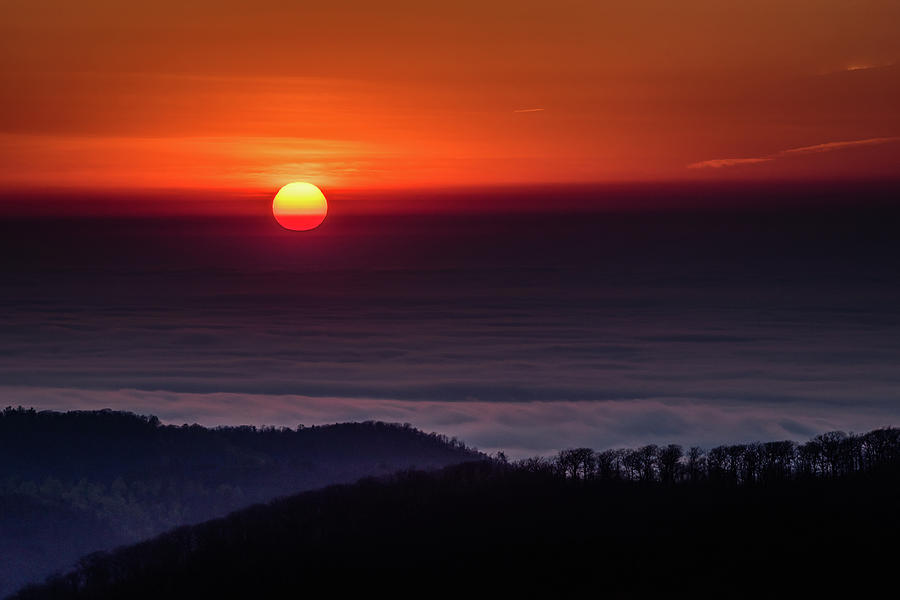 Sunrise through the Clouds by William Christiansen
