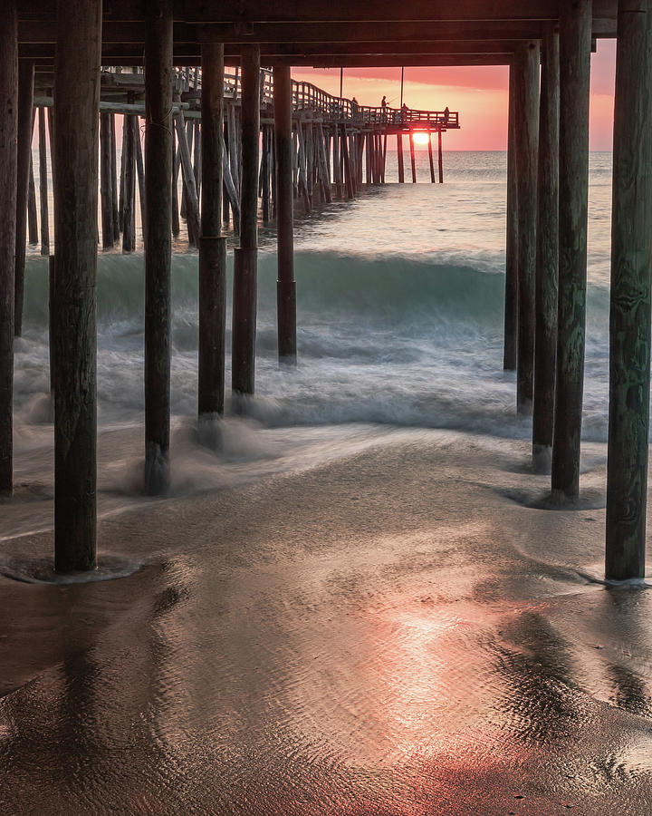 Sunrise Under the Pier by Rob Narwid